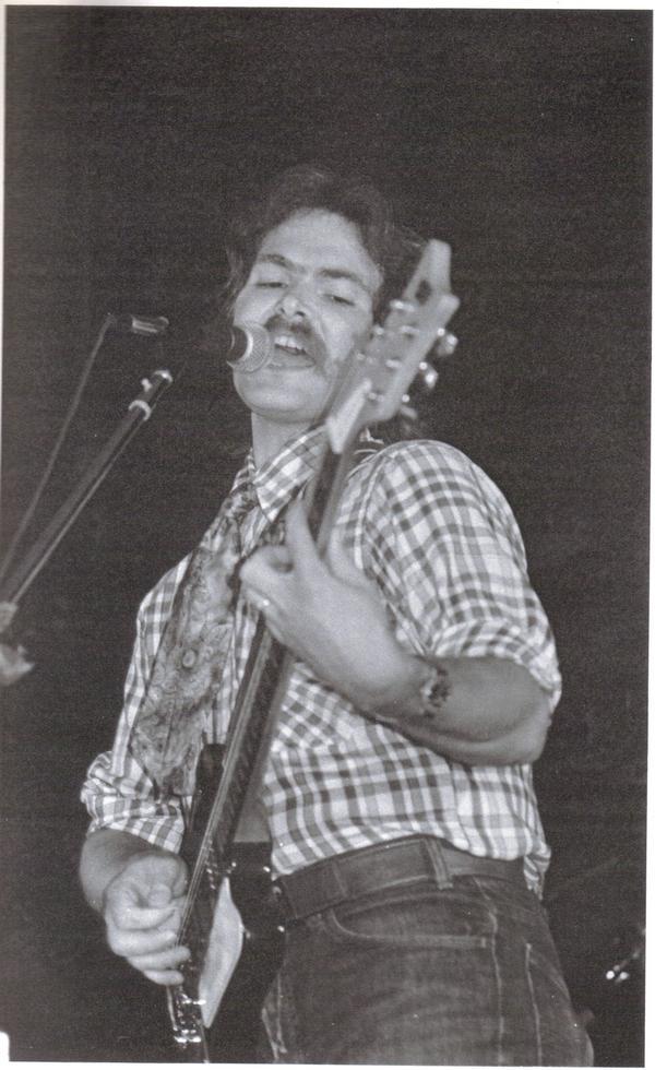 Rob w/ The White Animals, 1978
