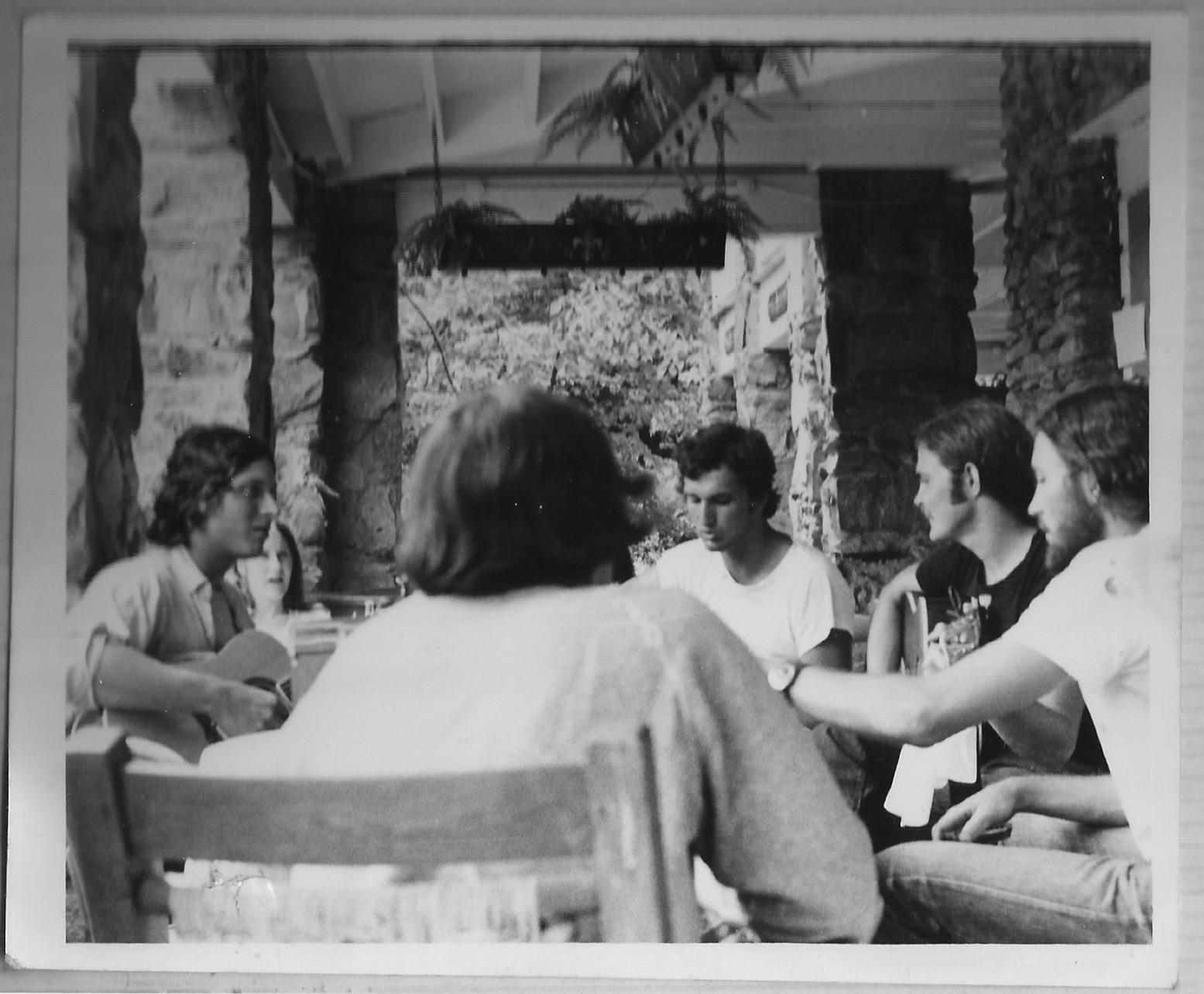 Cosmic Jam, 1973(?) - Montreat, NC - Porch of Left Banke
