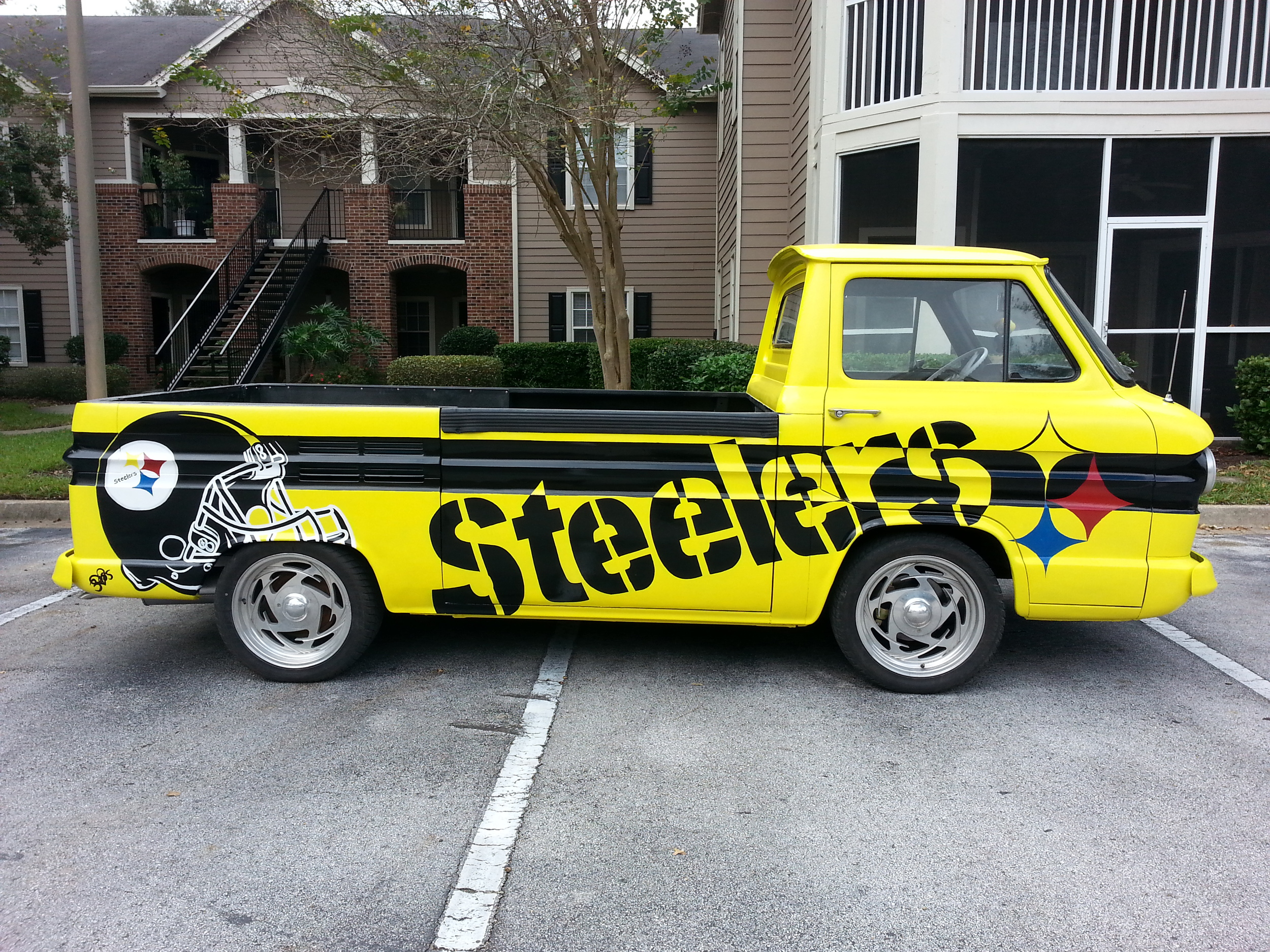 """STEELERS"" 1960s CHEVY TRUCK"