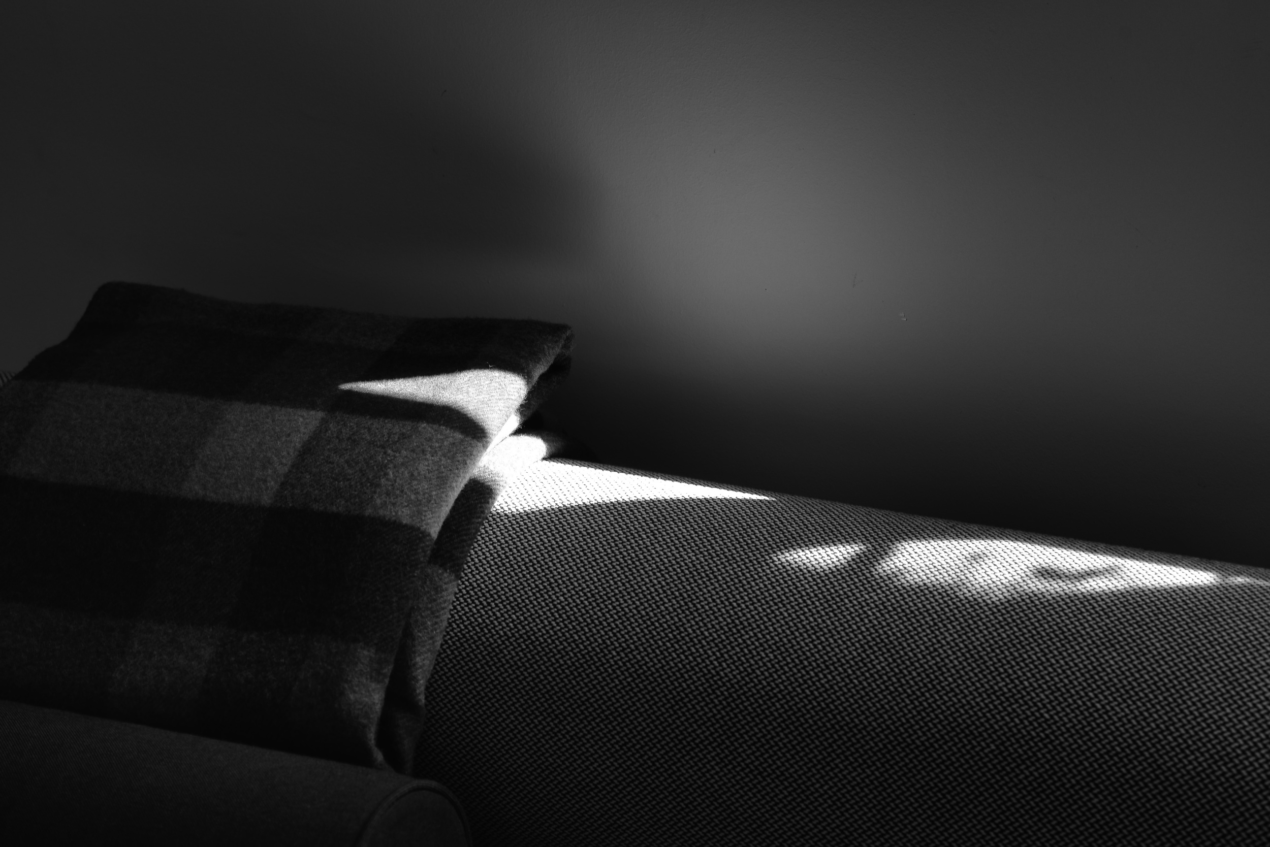 Sofa, Mid-morning, West Hollywood. (c) Jared Fortunato | Photography
