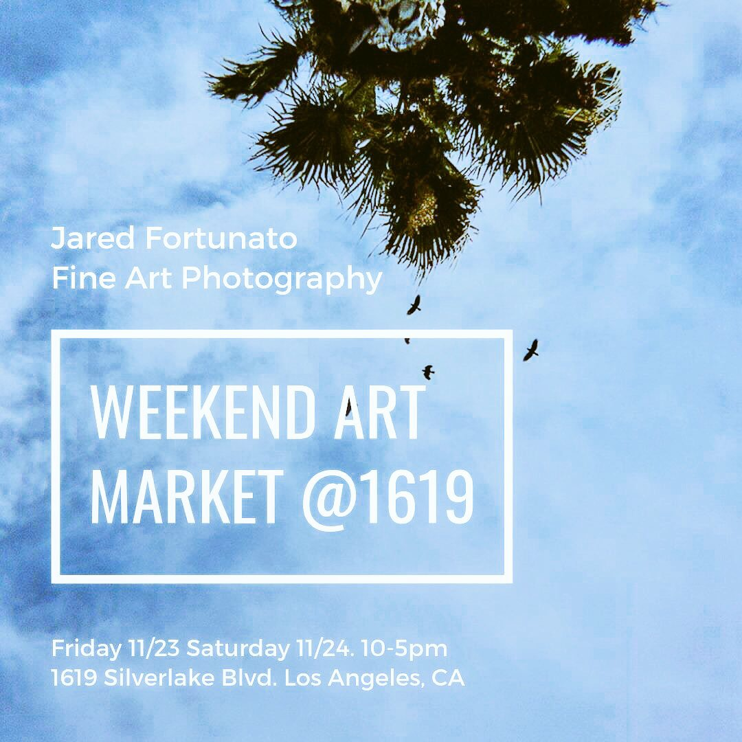 Look for me and six other talented local artists Thanksgiving weekend,  at 1619 Silverlake Blvd.  Will be serving up some amazing prints, just in time for the holidays!