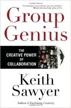 Creativity has long been thought to be an individual gift, best pursued alone; schools, organizations, and whole industries are built on this idea. But what if the most common beliefs about how creativity works are wrong?  Group Genius  tears down some of the most popular myths about creativity, revealing that creativity is  always  collaborative-even when you're alone. Sharing the results of his own acclaimed research on jazz groups, theater ensembles, and conversation analysis, Keith Sawyer shows us how to be more creative in collaborative group settings, how to change organizational dynamics for the better, and how to tap into our own reserves of creativity.