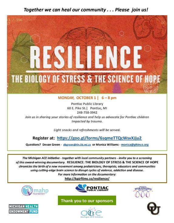 Resilience Flyer Pontiac Public Library.JPG