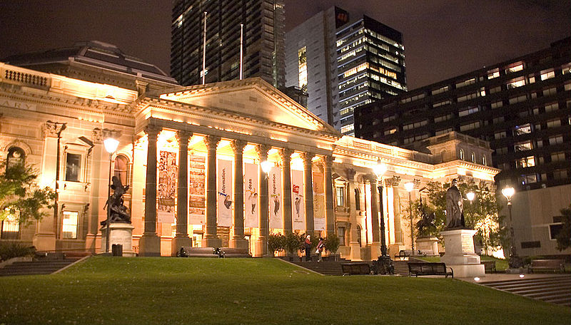 This is what public libraries look like in Melbourne. Not bad, eh?