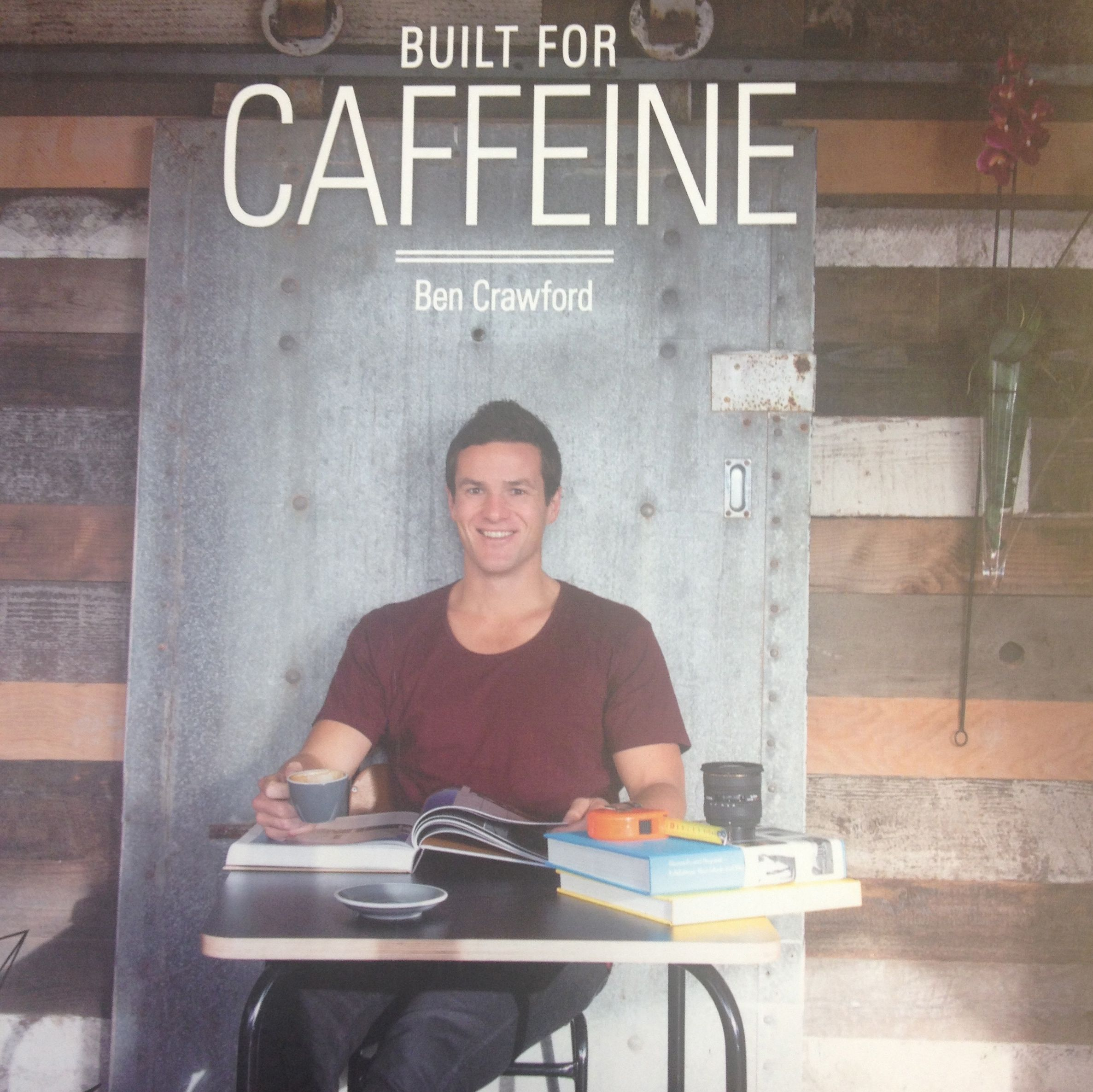 I should have taken a picture of the Re:Start mall, but instead I snapped a pic of the cover of this book about coffeehouses in New Zealand.