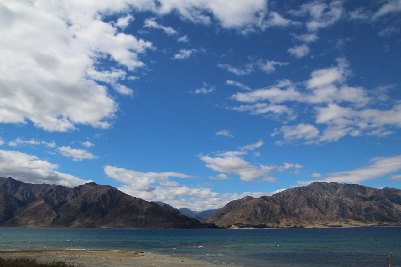 Just a stop along the road from Queenstown to Franz Joseph. Just...