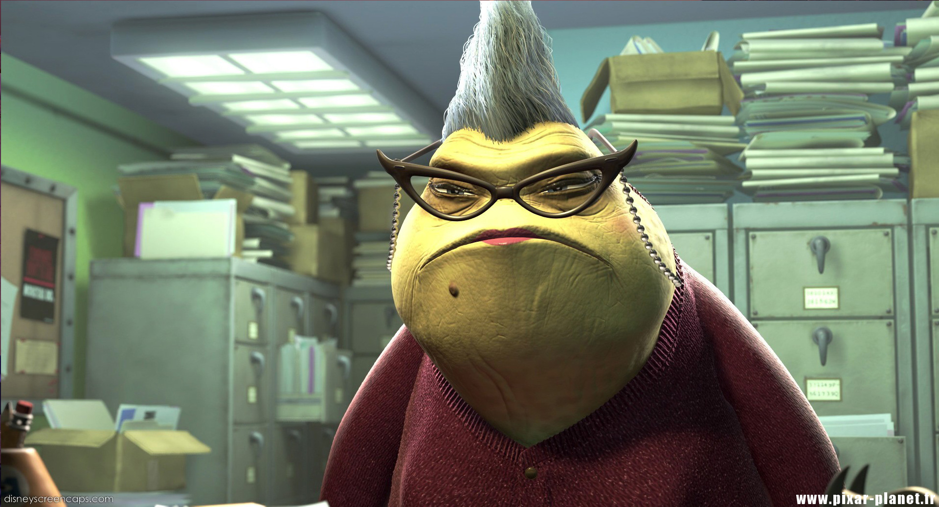 Roz. I'm not kidding, this is what she looked like.