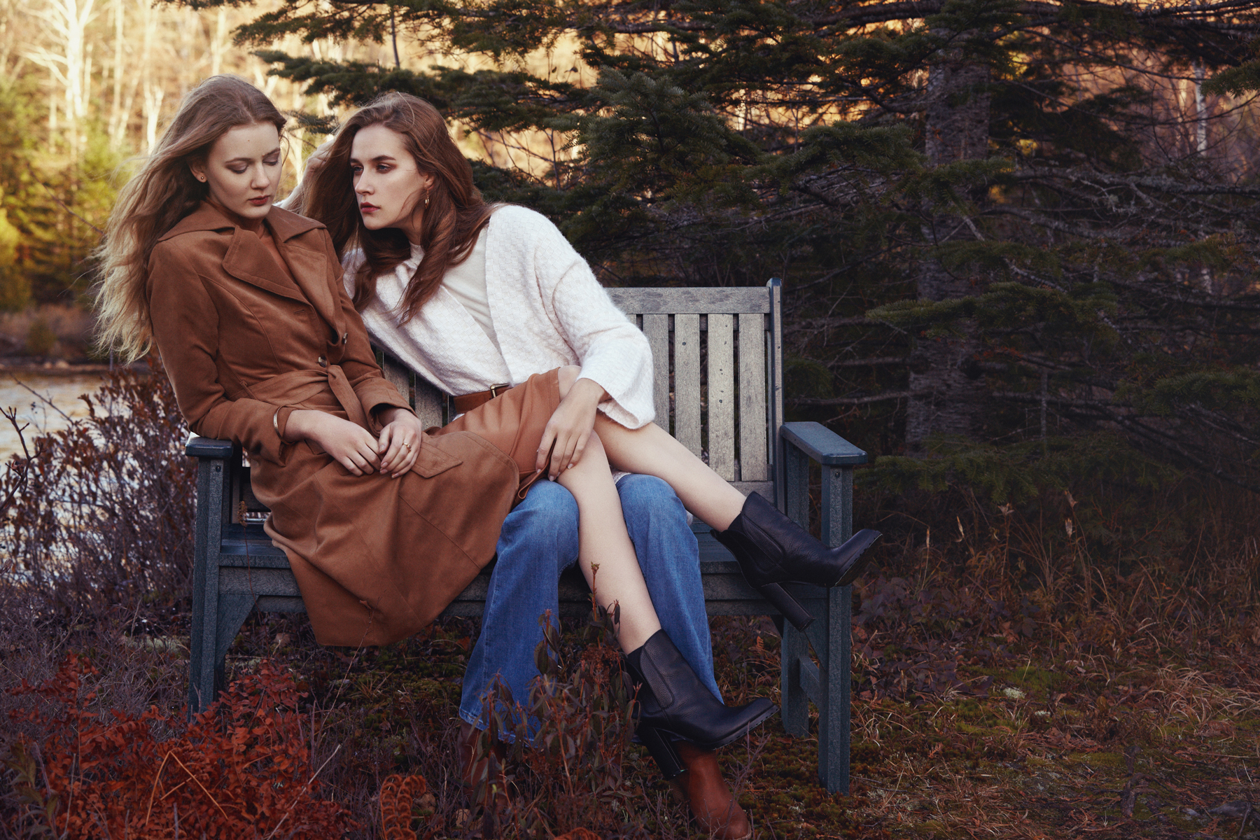 Emilie Tournevache Photographer Fashion Portrait Editorial Autumn Tale