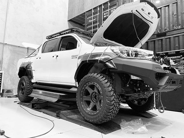 Creating the right stance sometimes takes several wheel, flare and suspension setups.  Then the hard part really starts when it comes time to colours, style, accessories and all the little things that make the complete package!  sales@vogueindustries.com to start your next project.  #vogueindustries #vogue #toyota #hilux #n80hilux #n80 #rival #drivetech4x4 #methodracewheels #toyotyres #rhinoroofrack #flares #stance #stancenation #testfit #suspension #lifted #busymonth #hiluxbuild