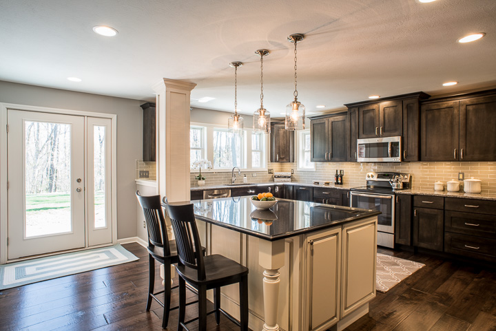 Noblesville Addition And Whole Home Remodel Indianapolis Remodeling Contractor Kitchen Remodeling Room Additions Custom Home Building Whole House Renovations