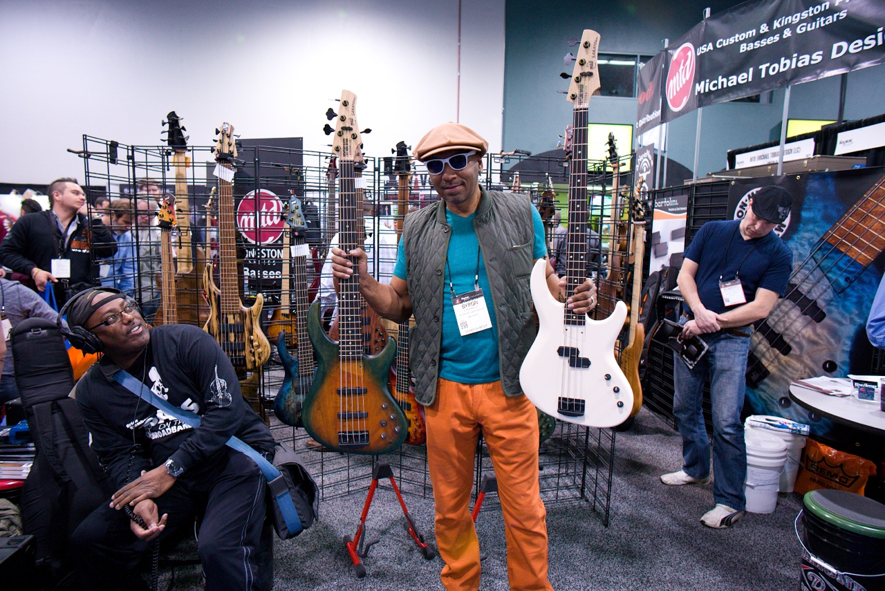 Byron Miller and his Psycho Bass