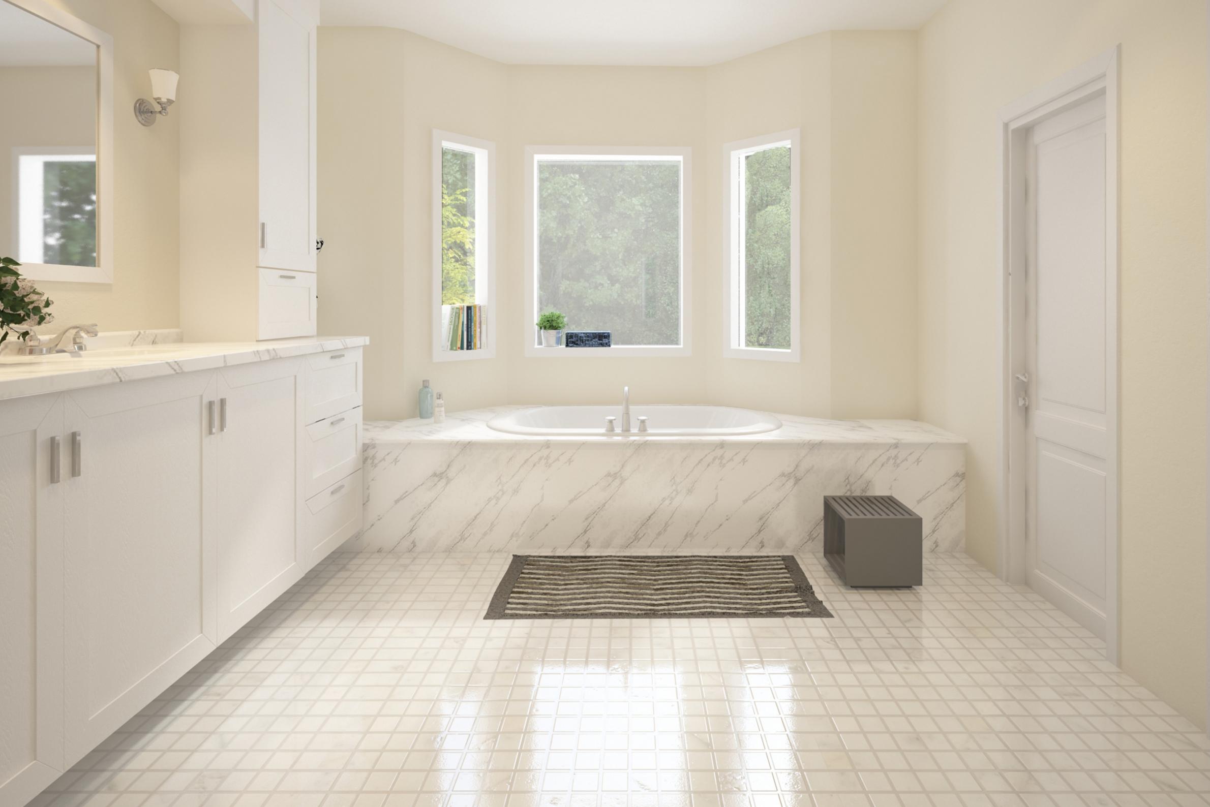 West Vancouver Bathroom Renovation Design