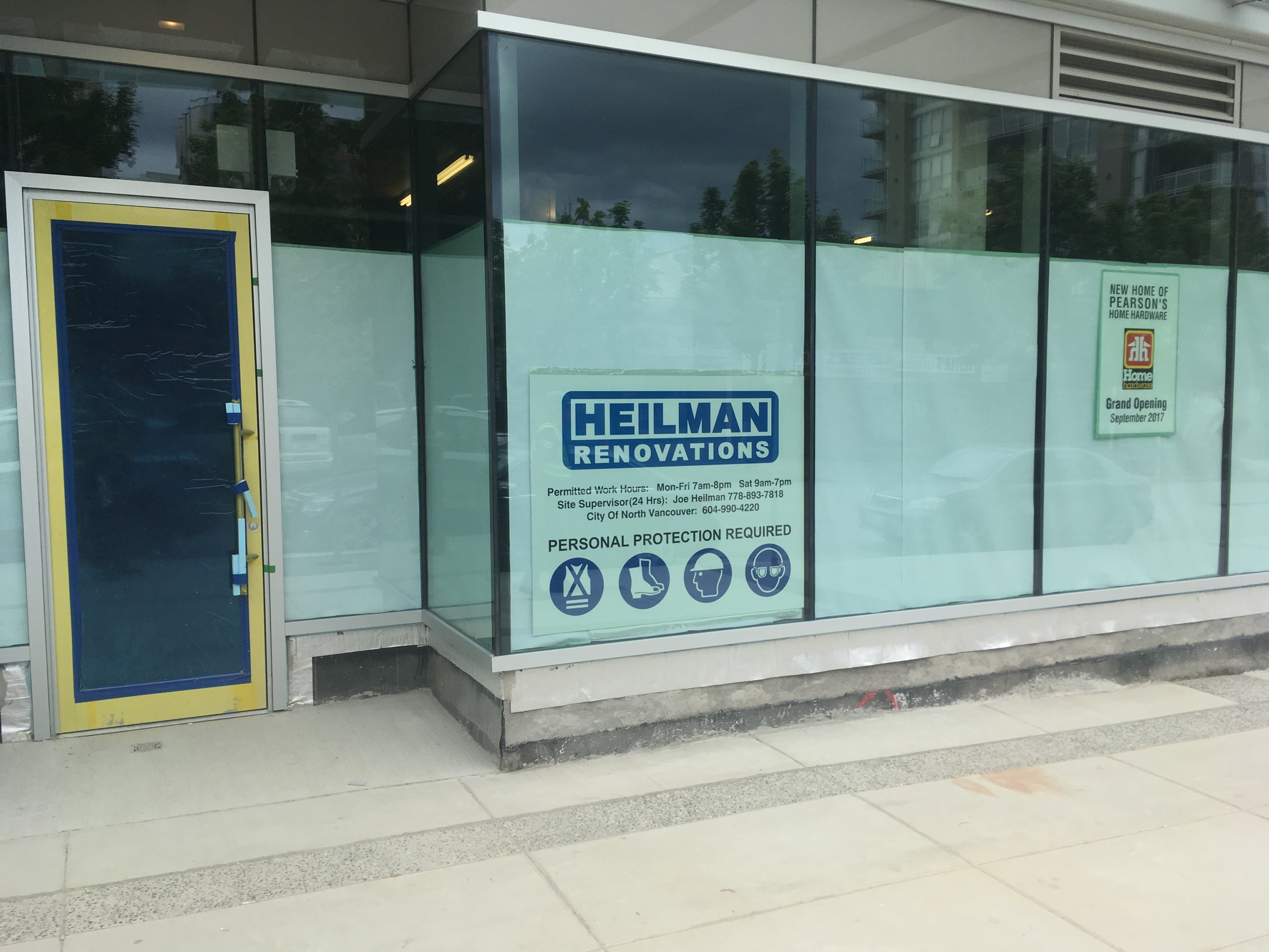North Vancouver Commercial Renovations