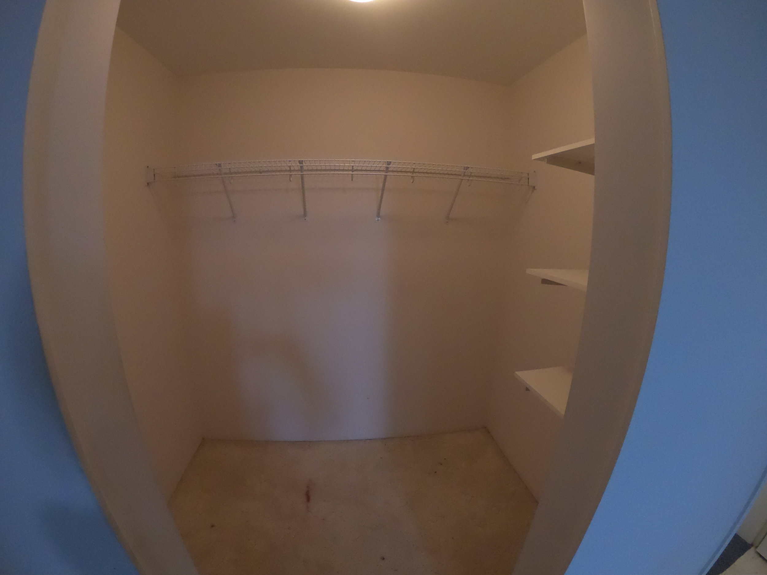 Old closet and soon to be shower in this North Vancouver Renovation