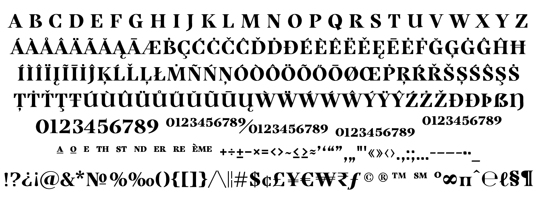 Grafton Base Character Set