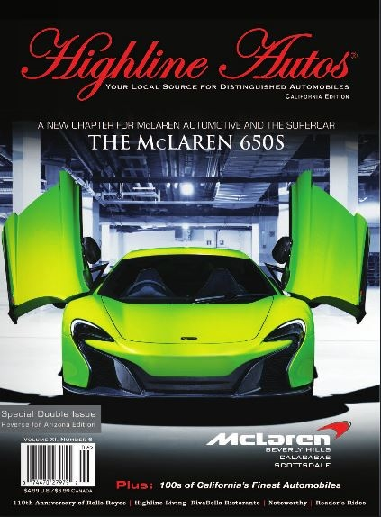 Highline Autos Magazine June Cover