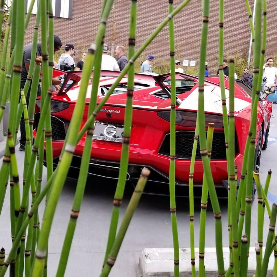 Lamborghini Cars and Coffee La Jolla