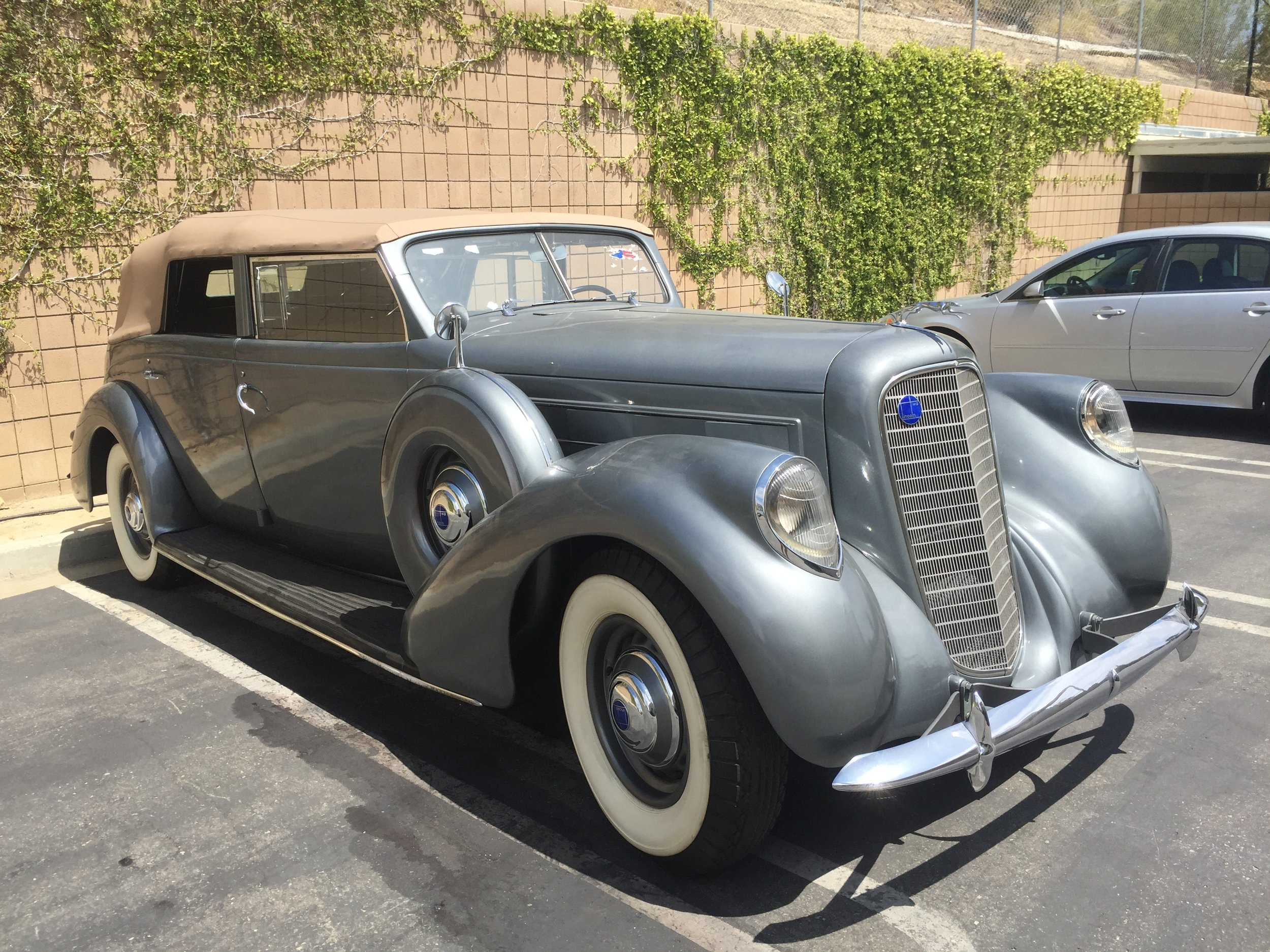 1931 Lincoln K LeBaron Convertible Sedan