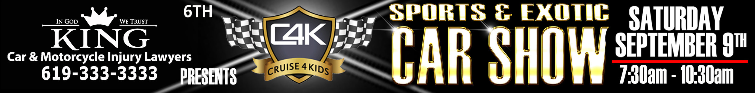 C4K sports & exotic car show