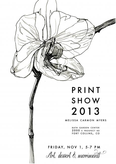 Melissa Carmon Myers fine art show printmaking prints