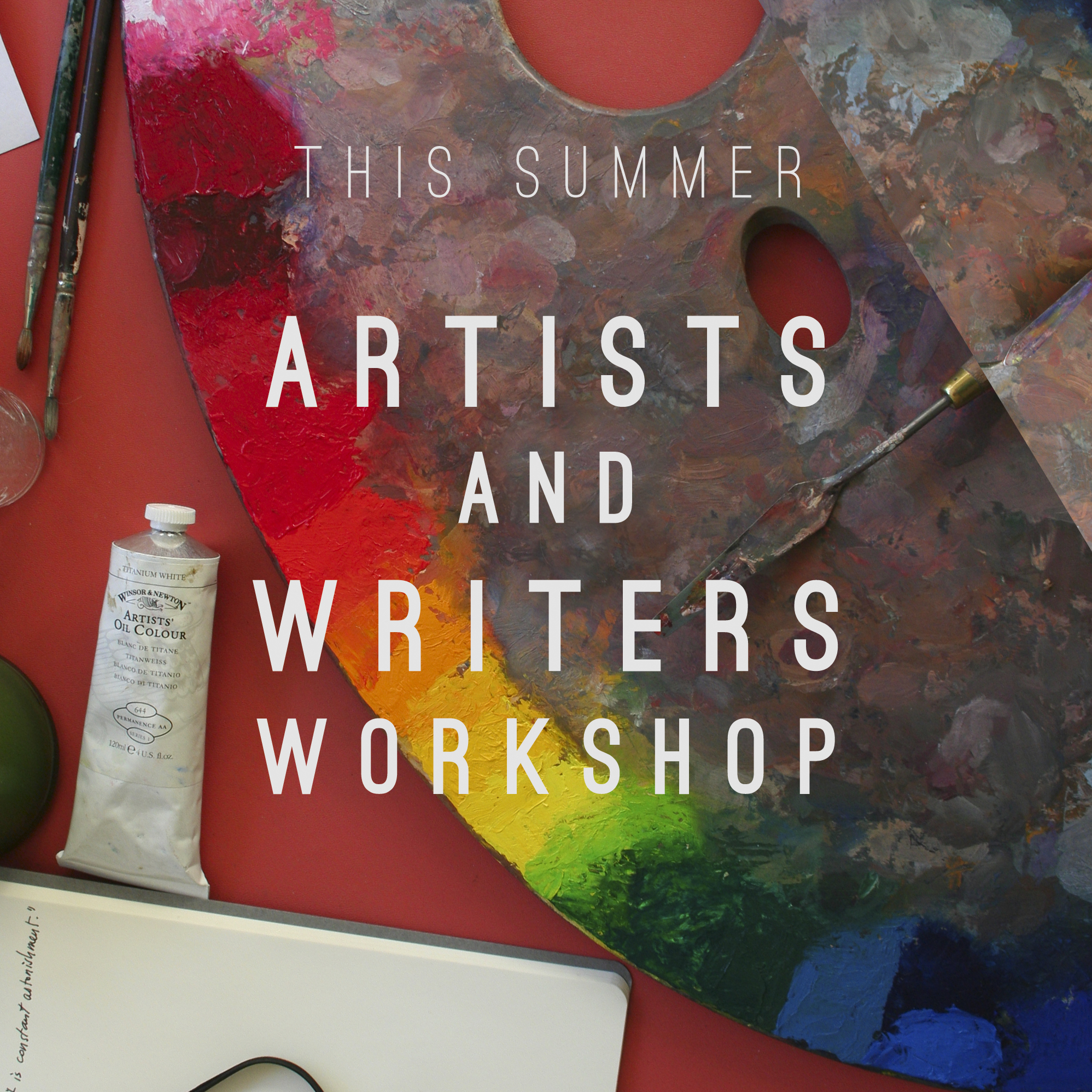 Melissa Carmon Myers Artist's and Writer's Workshop Art Writing Creativity Palette and Journal