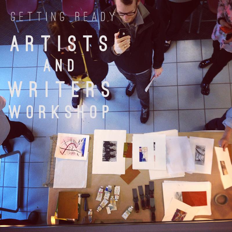Melissa Carmon Myers Art Workshop Artists Writers Musicians Get Ready