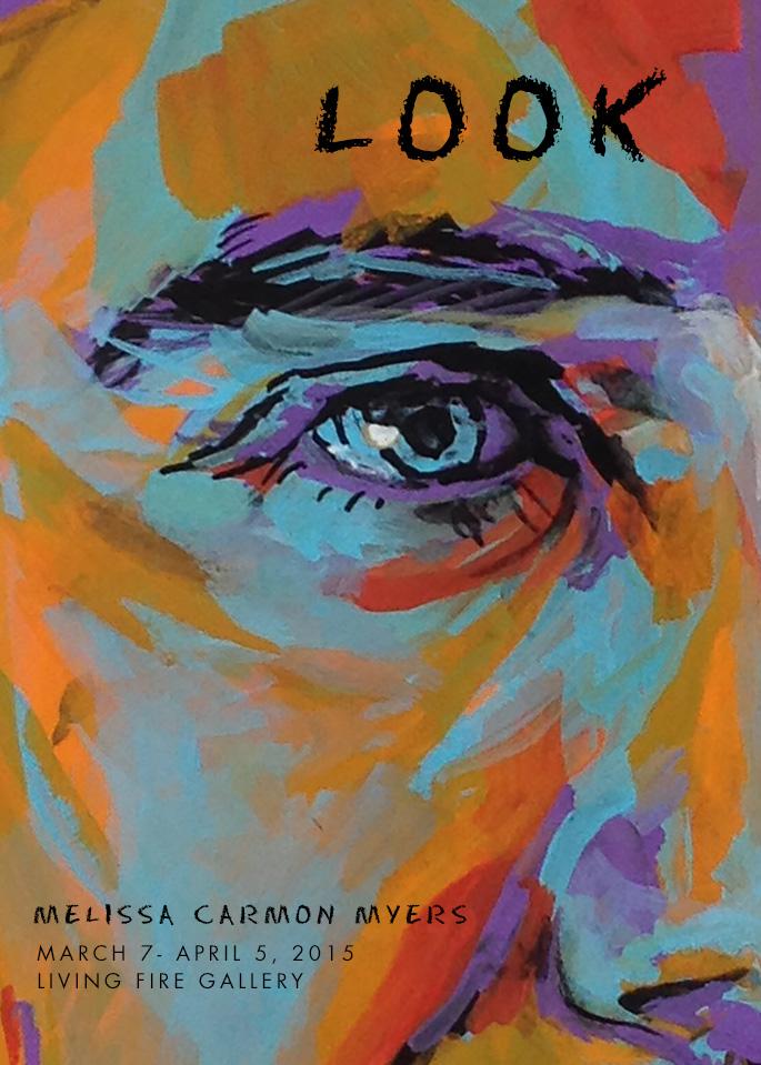 Melissa Carmon Myers Art Opening March 2015