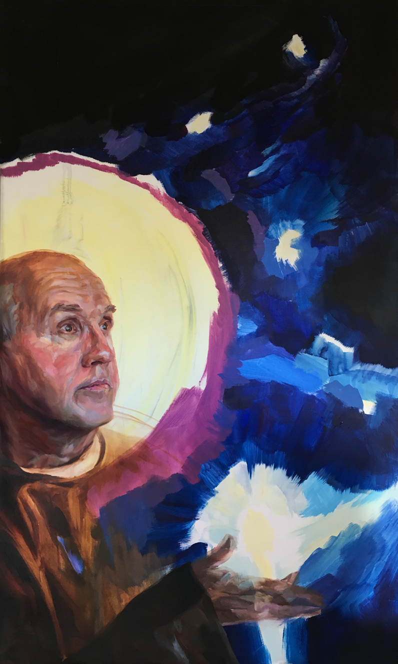 St. Benedict and the Stars
