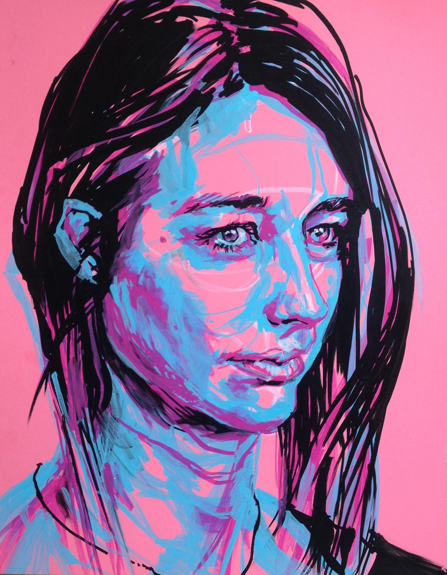 Portrait of Brooke, by Melissa Carmon, Acrylic on Paper, 1500 px.jpg