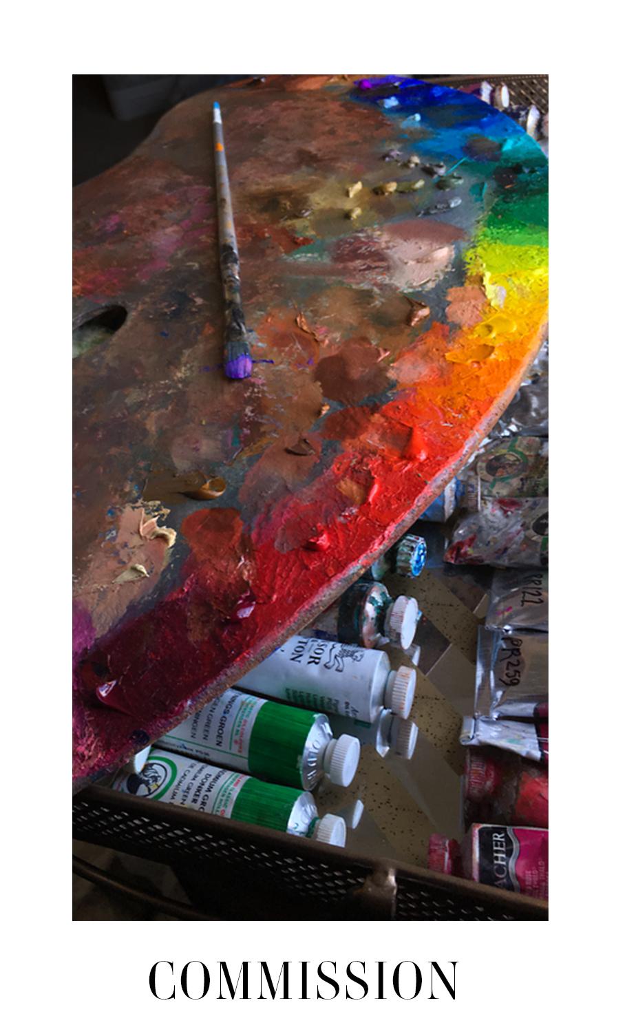 Melissa Carmon Artist Commissions Painting