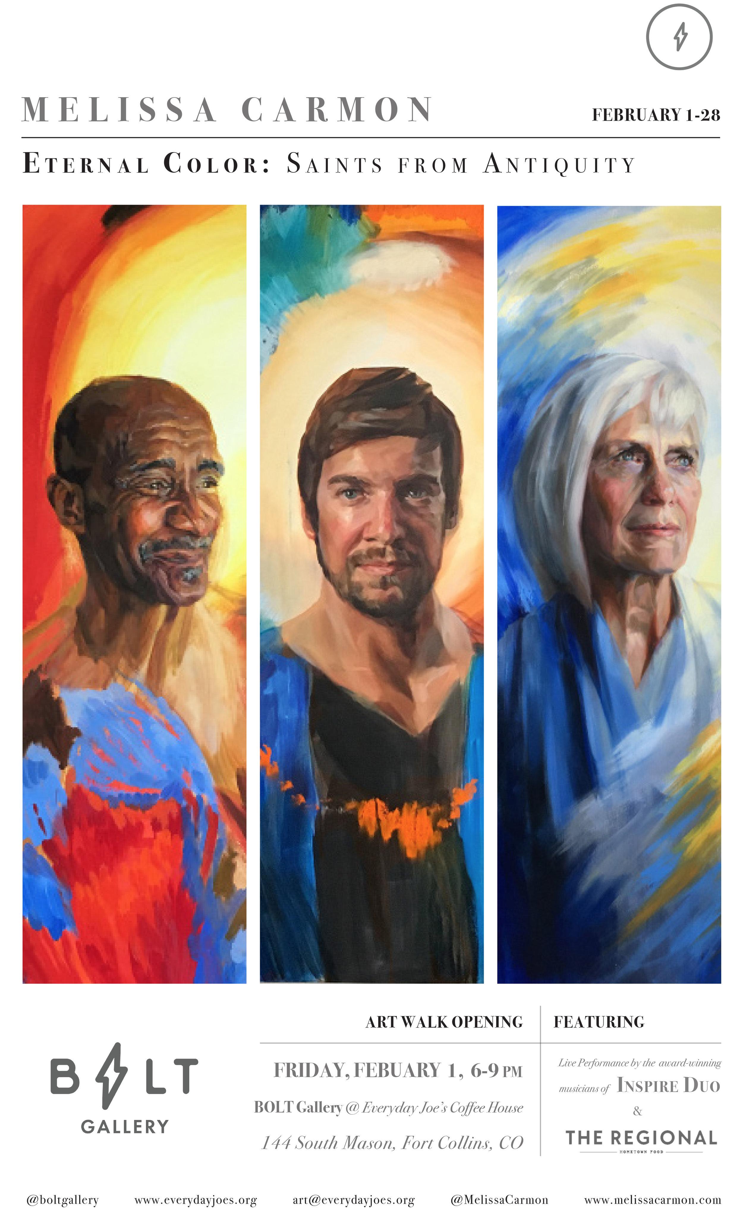 Melissa Carmon Art Show Poster Bolt Gallery Eternal Color Art Show.jpg