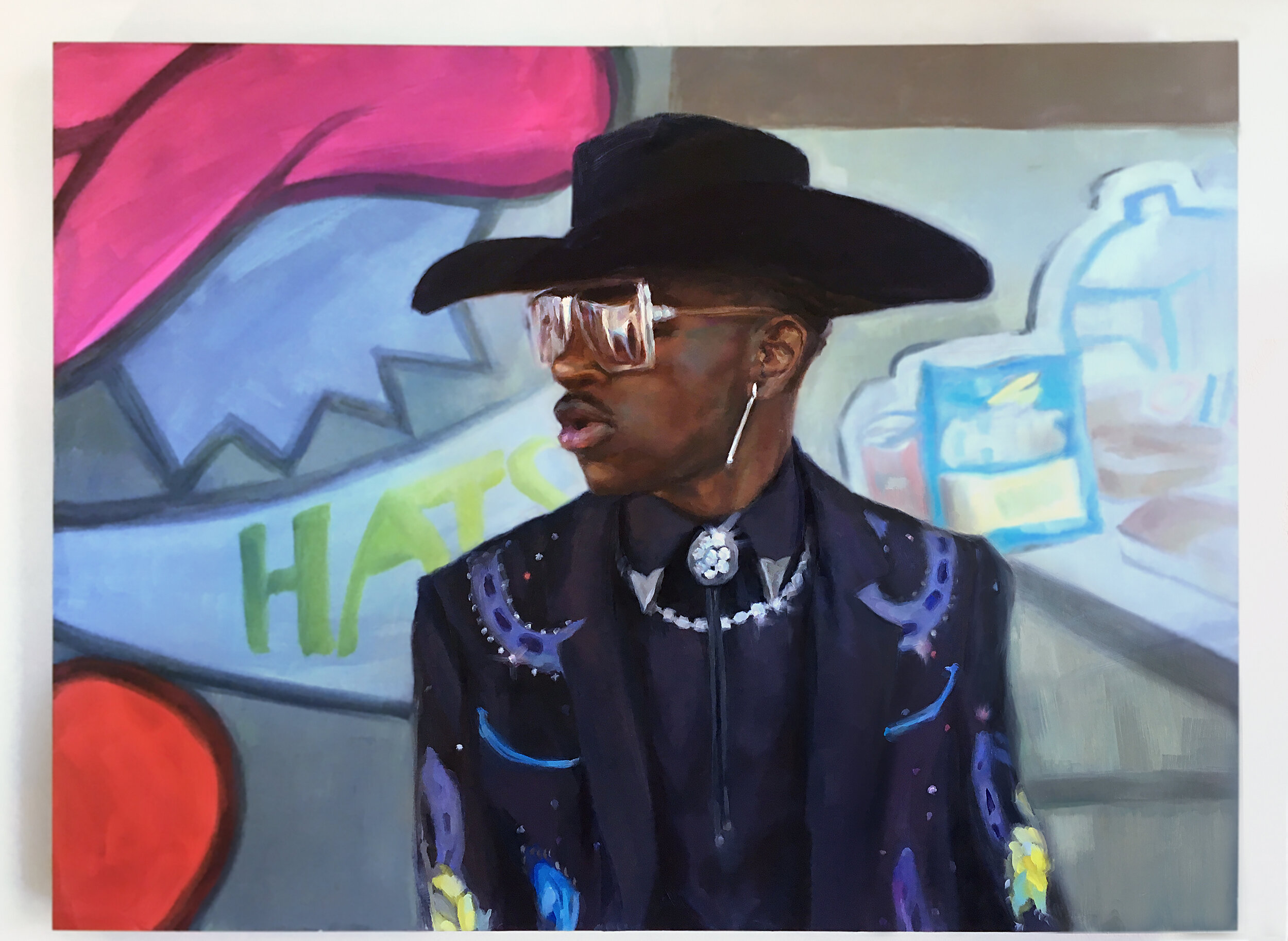 Lil Nas X Old Town Road by Melissa Carmon.jpg
