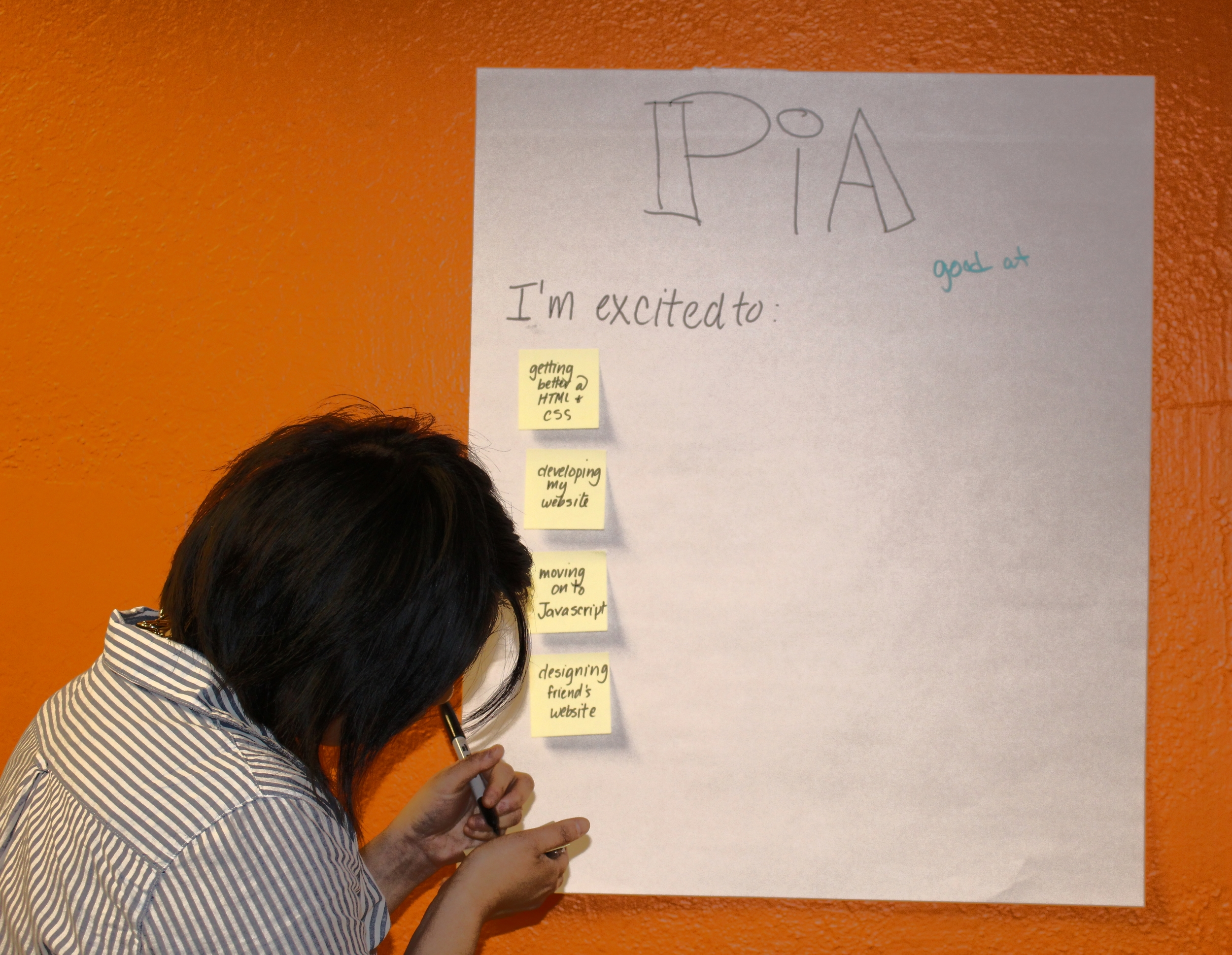 Building a roadmap for on-ramping to a new career in web design.