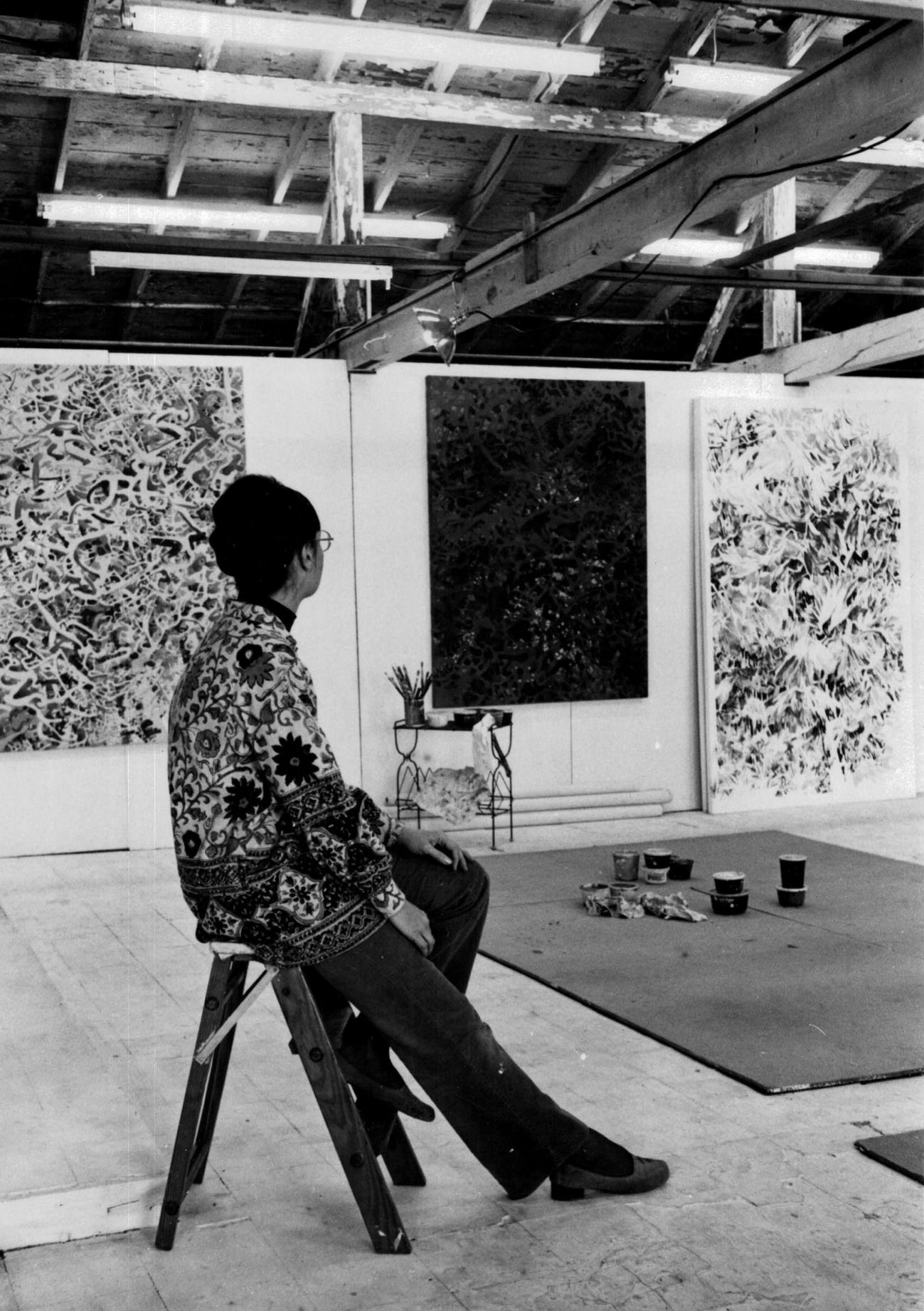 Bonnie Ford Woit - Studio, circa 1970s