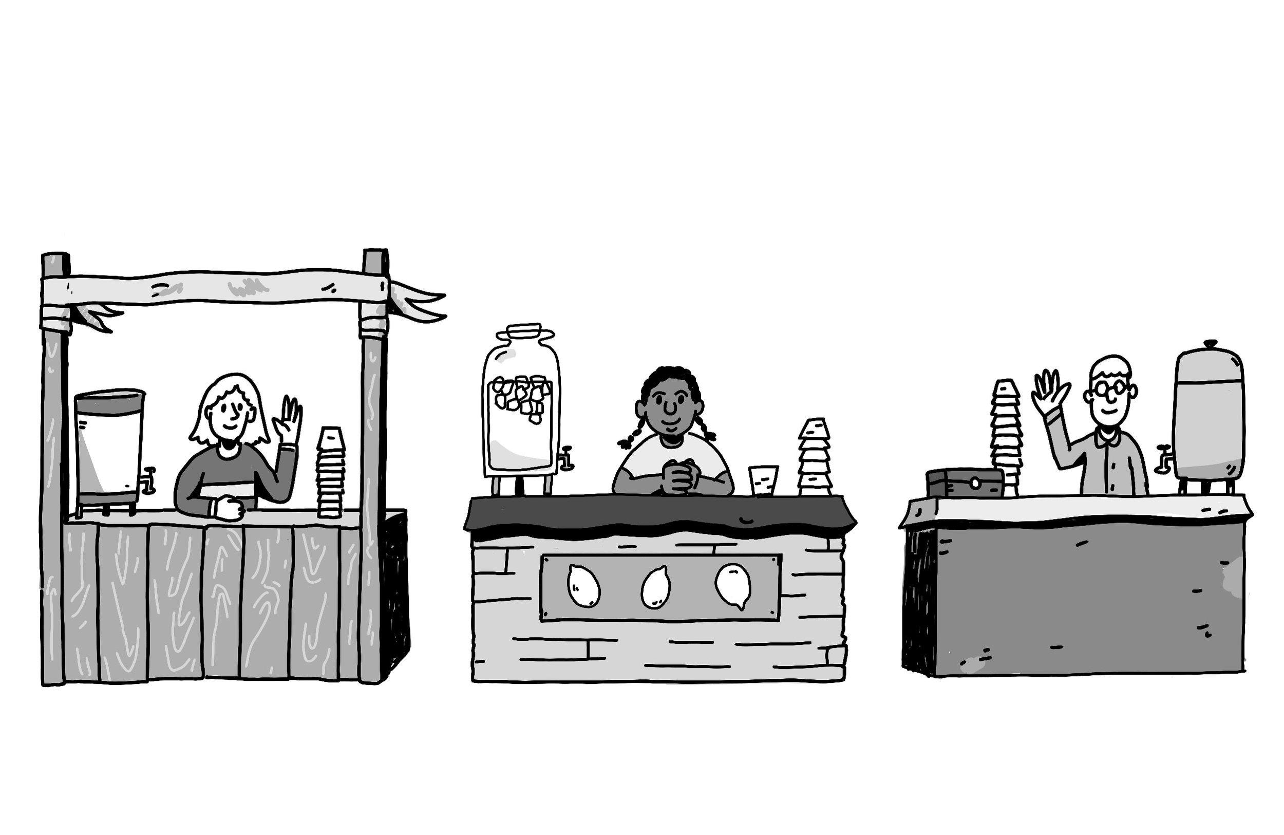 Lemonade Sellers