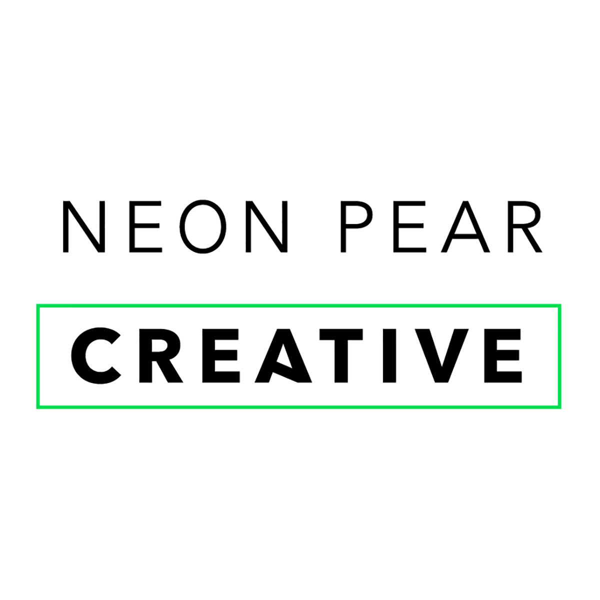 Logo design for Neon Pear Creative