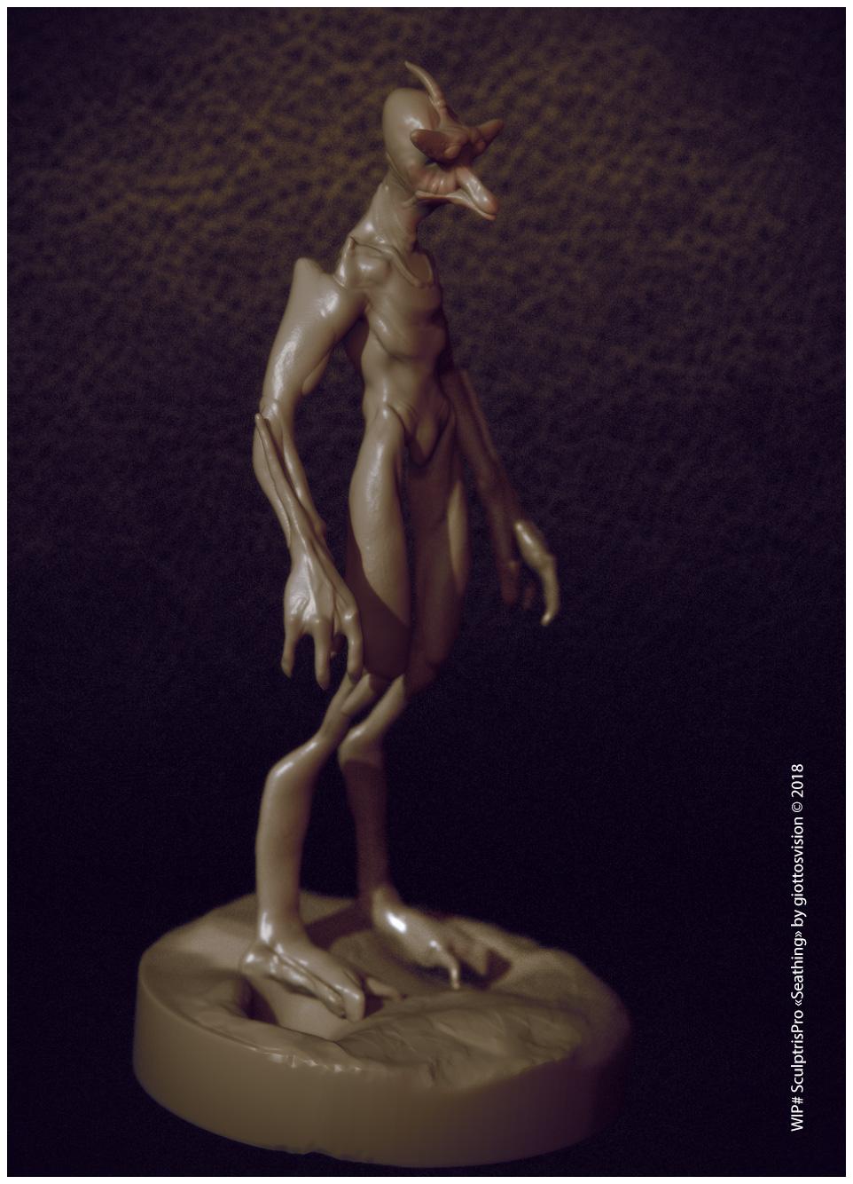 Sculptris Pro in ZBrush — giottos vision