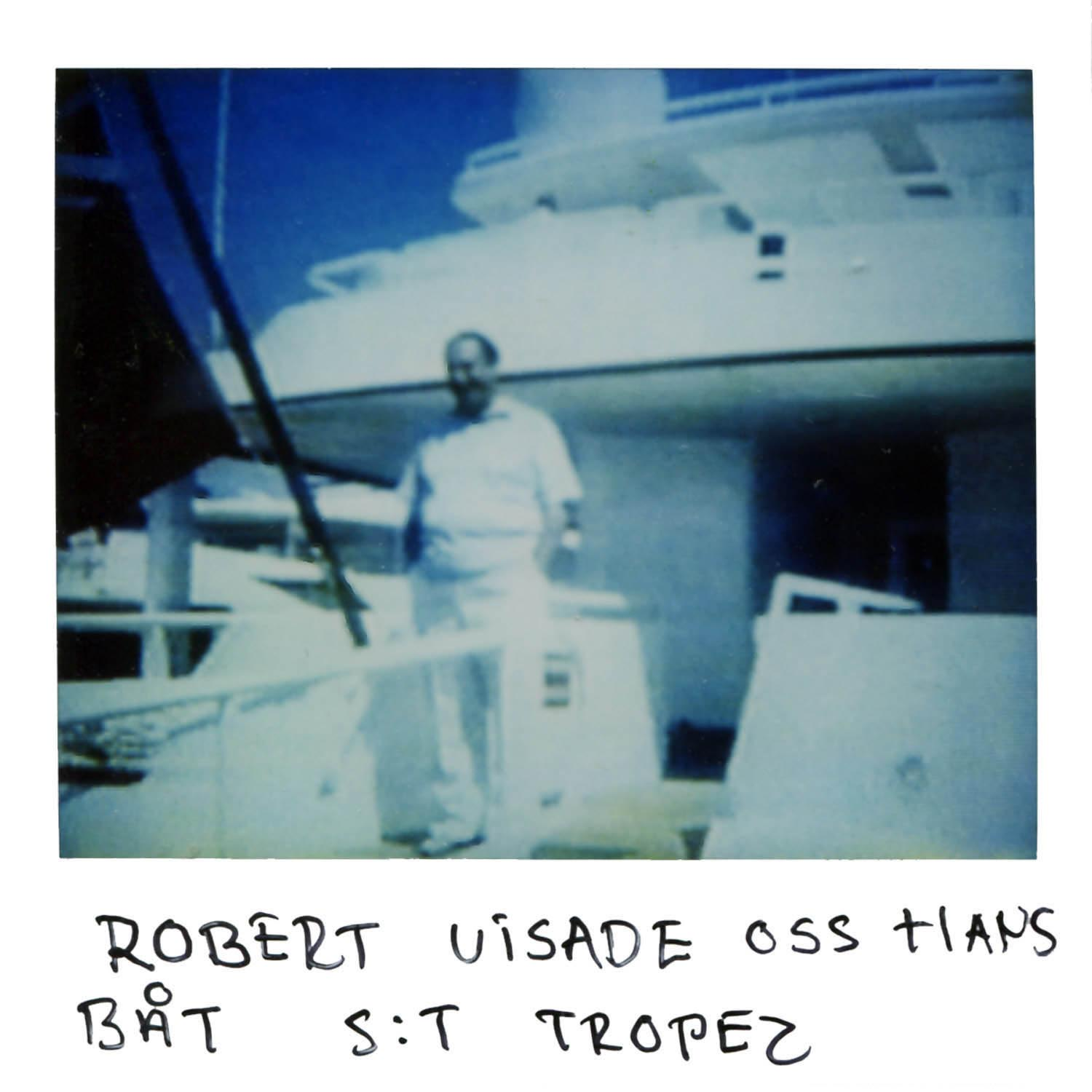 Robert showed us his boat or yacht in Saint Tropez