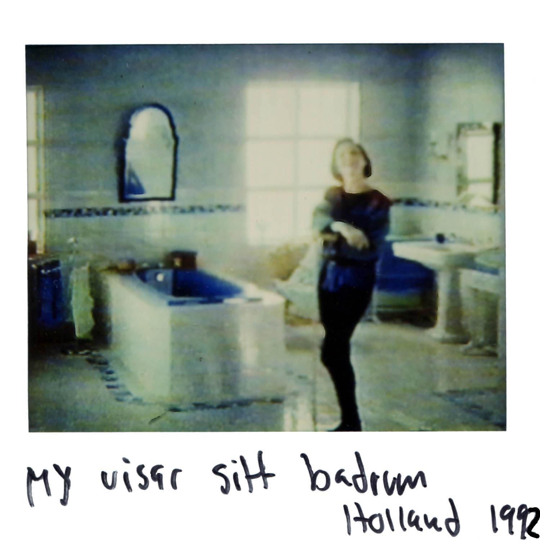 My shows her bathroom  Holland 1992