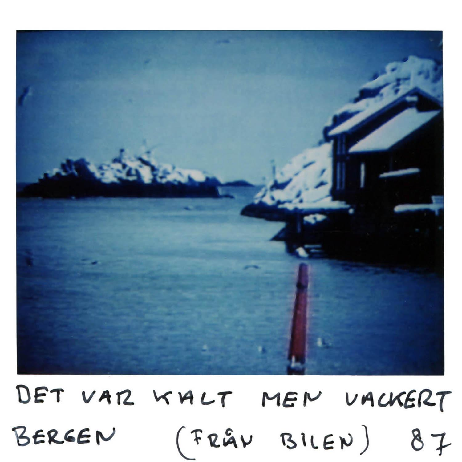 It was cold but beautiful  Bergen (from the car) -8