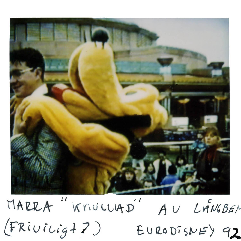 """Marra """"fucked"""" by goofy (free will ?) Euro Disney -92"""