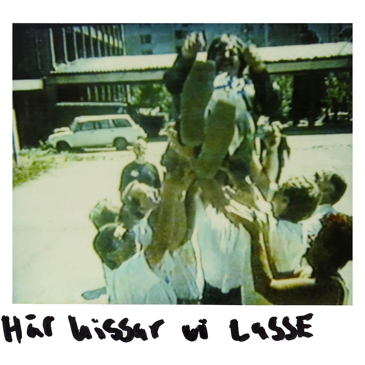 Lasse up in the air