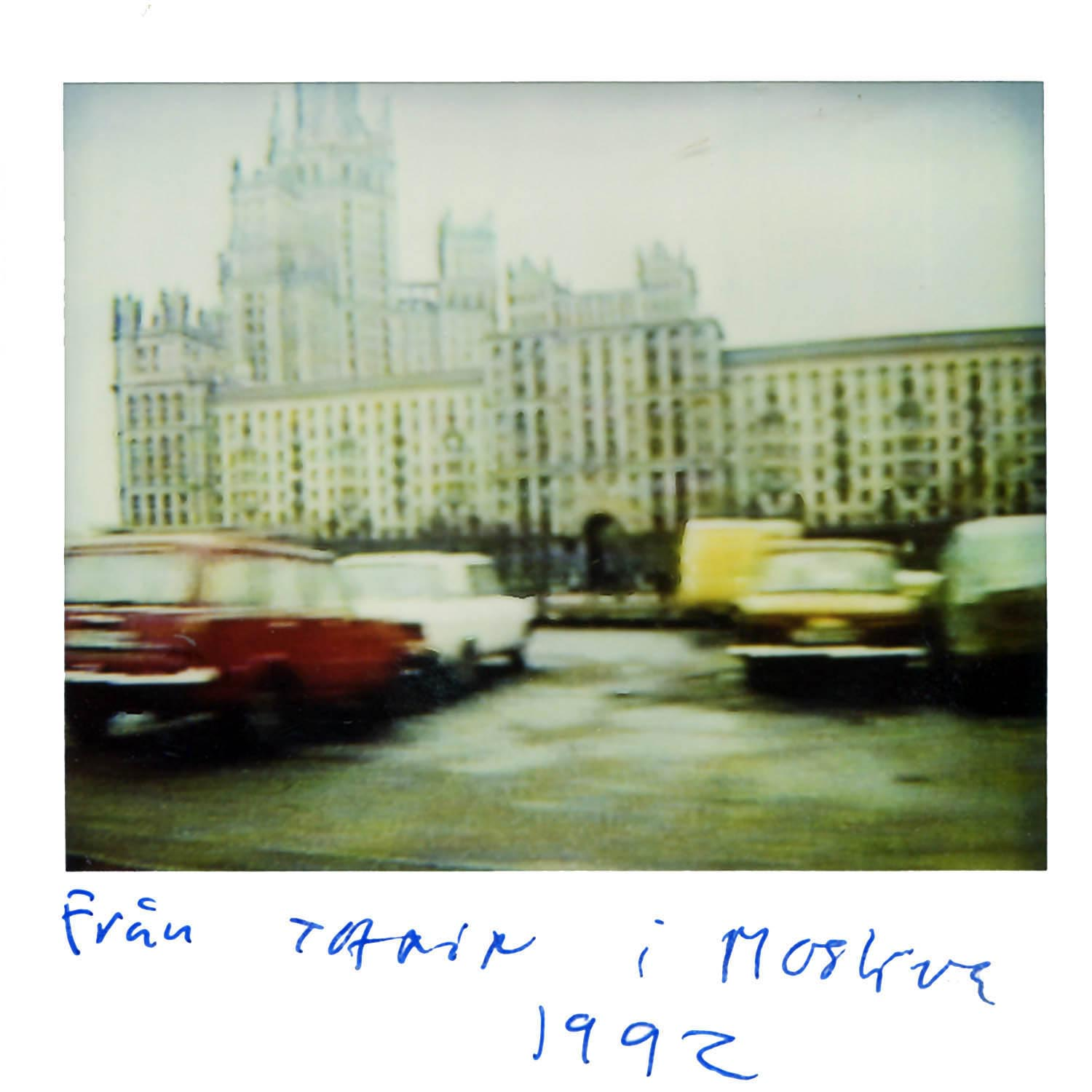 From the Taxi  Moscow 1992
