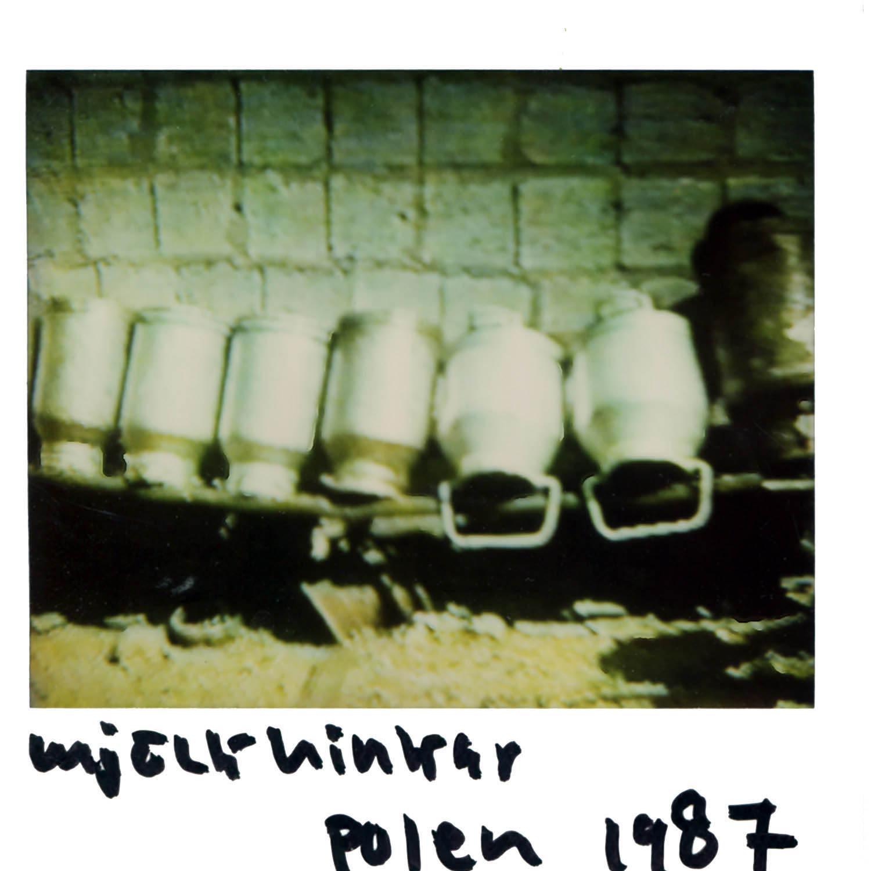 milk barrels  Poland 1987