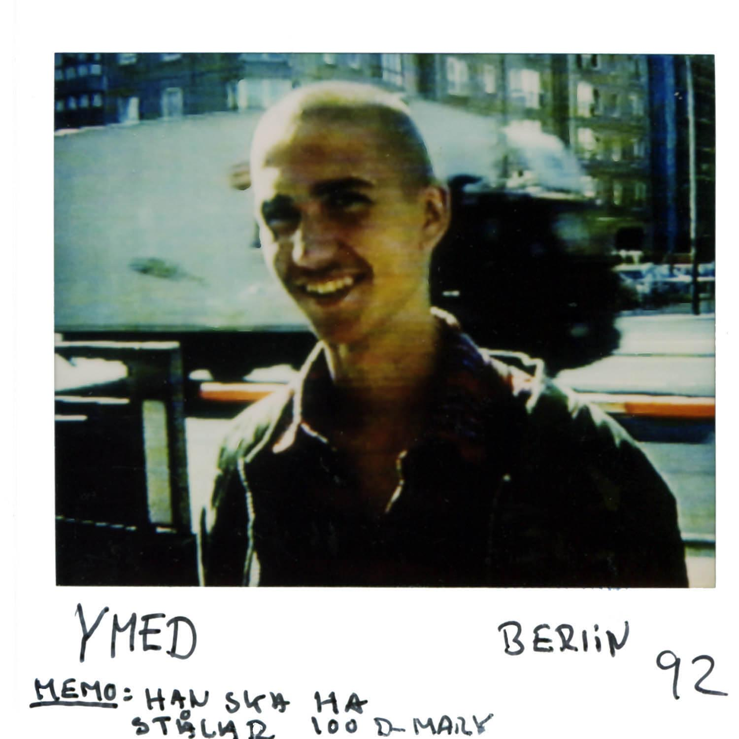 YMED  note to self: i own him 100 D-MARK  Berlin  -92