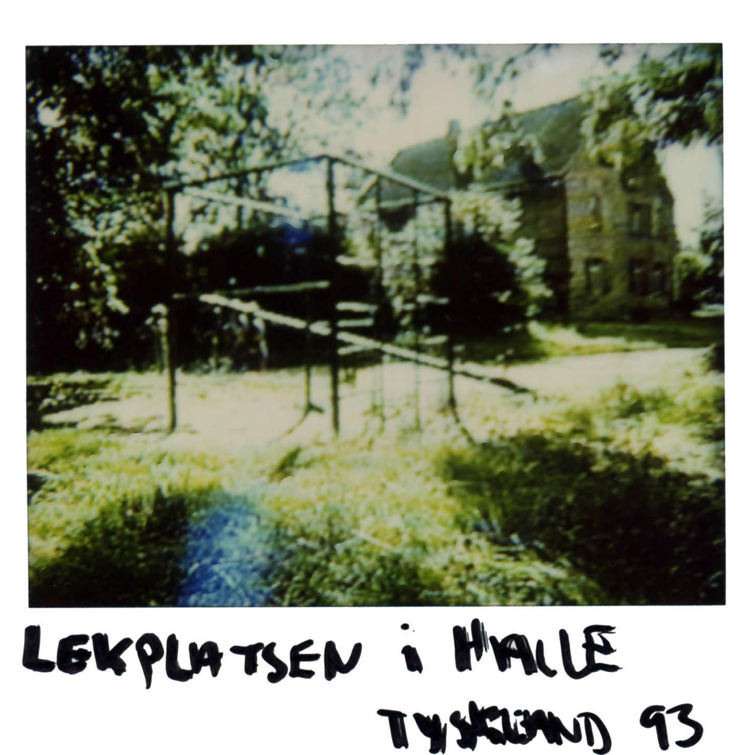 The playground in Halle  GERMANY -93