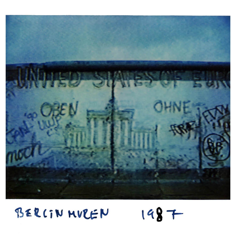 The Berlin wall  1987