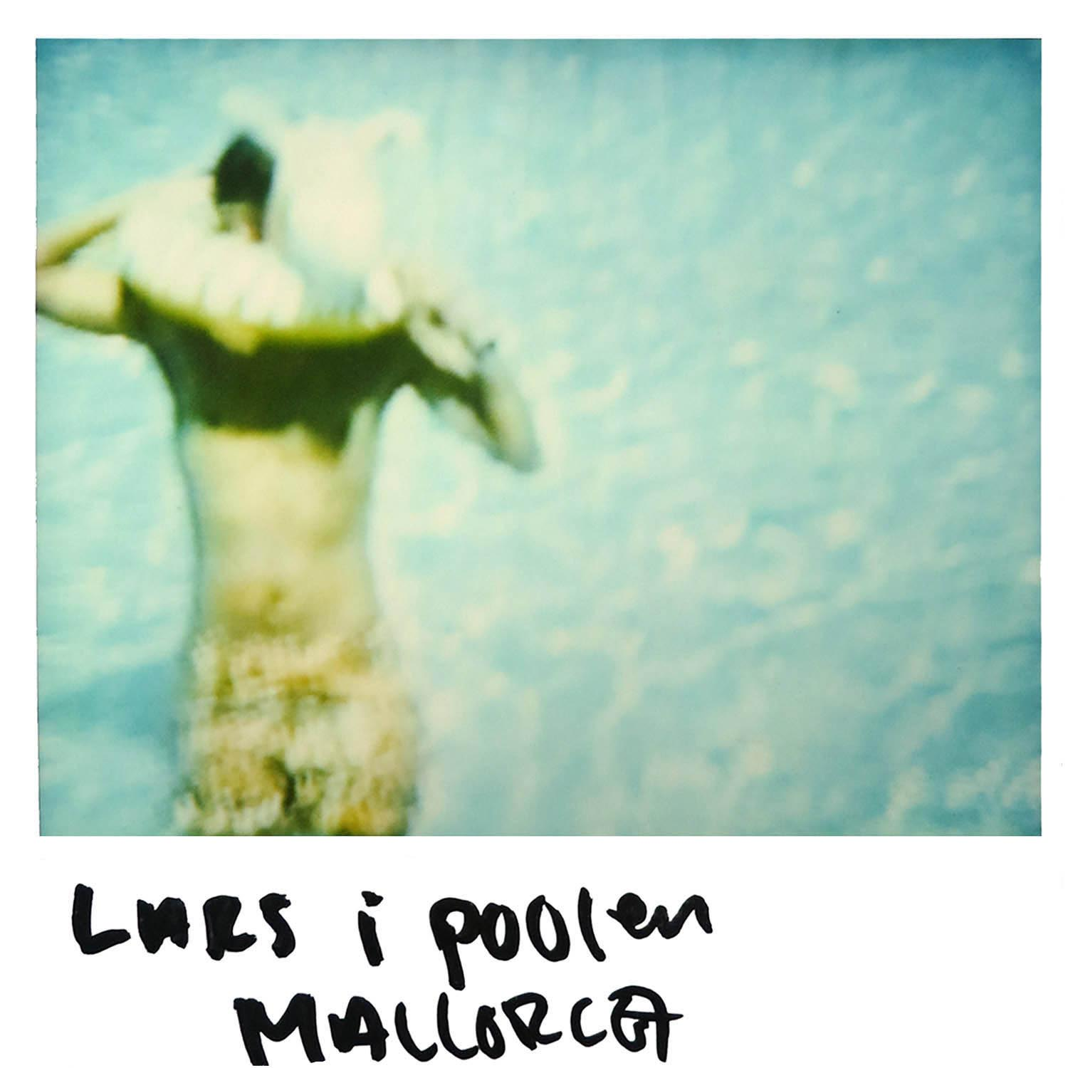 one more of Lars in the pool  Mallorca