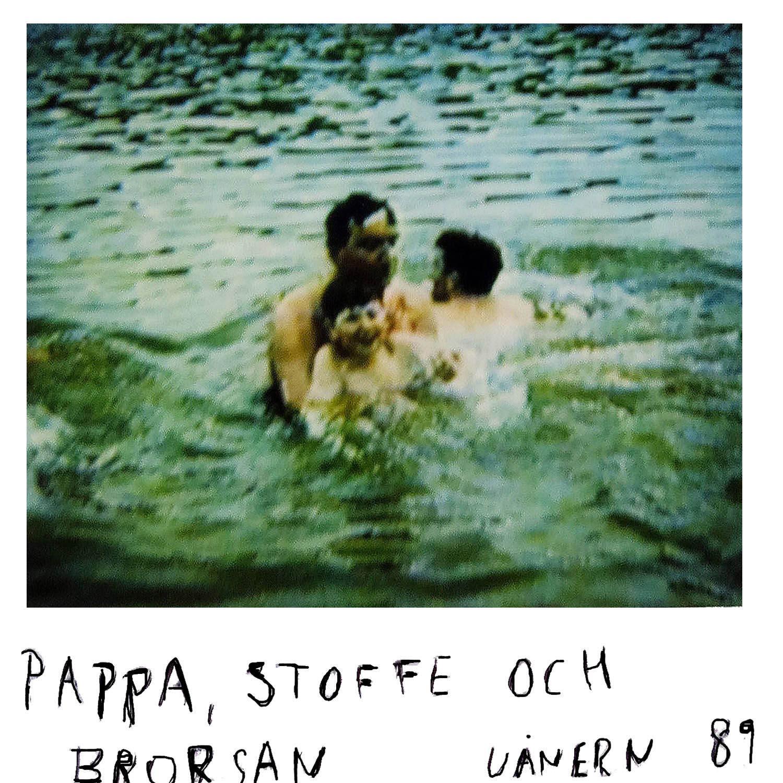 Dad, Stoffe , and my brother  Vänern -89
