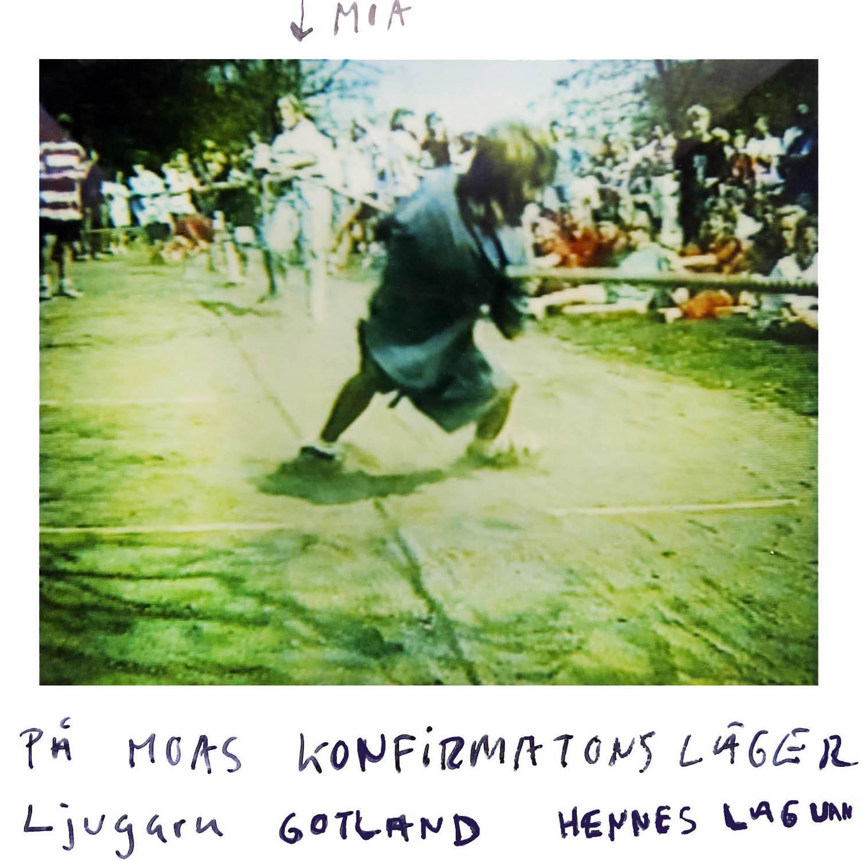 At Moas Confirmations camp  Her team won  Ljugarn Gotland
